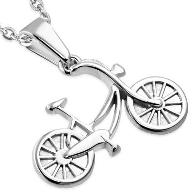 Pandant otel inox bicicleta