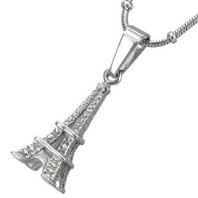 Pandant turnul Eiffel Paris din otel inox