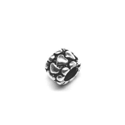 Pandantiv argint 925 cu inimioare pentru bratara tip charm0