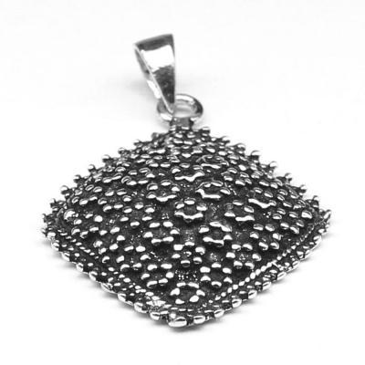 Pandantiv argint 925 cu numeroase floricele2