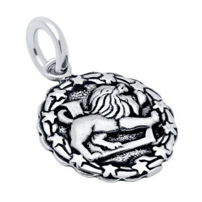Pandantiv argint 925 cu zodia leu