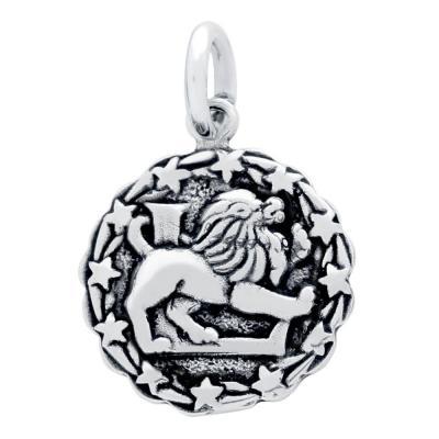 Pandantiv argint 925 cu zodia leu1