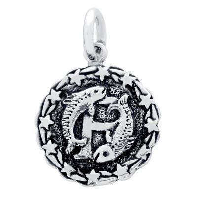 Pandantiv argint 925 cu zodia pesti1