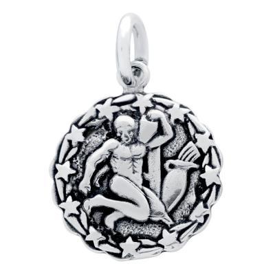 Pandantiv argint 925 cu zodia varsator1