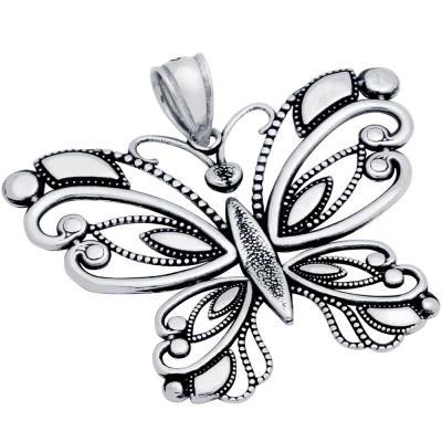 Pandantiv argint 925 fluture0