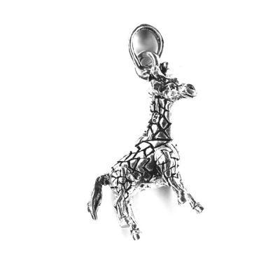 Pandantiv argint 925 girafa cu parti mobile0