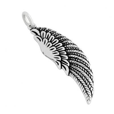 Pandantiv argint 925 aripa de inger protector - Be Protected
