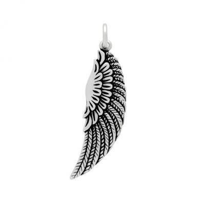 Pandantiv argint 925 aripa de inger protector - Be Protected1