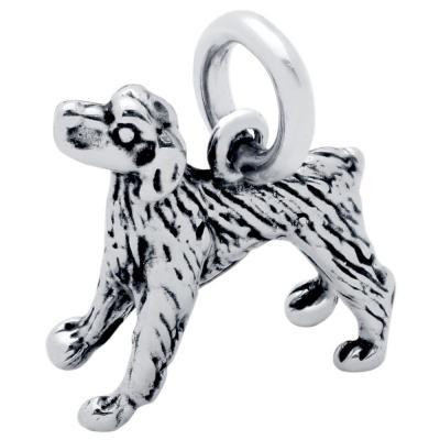 Pandantiv argint 925 in forma de caine labrador