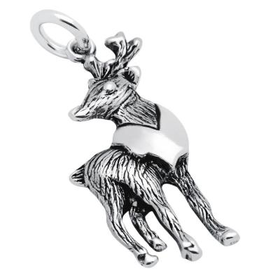 Pandantiv argint 925 in forma de cerb0