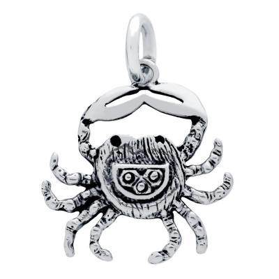 Pandantiv argint 925 in forma de crab1