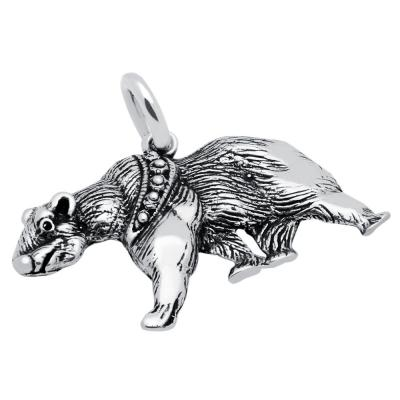 Pandantiv argint 925 in forma de urs [0]