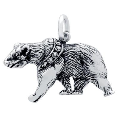 Pandantiv argint 925 in forma de urs [1]