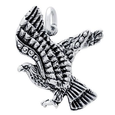 Pandantiv argint 925 in forma de vultur - Be Daring