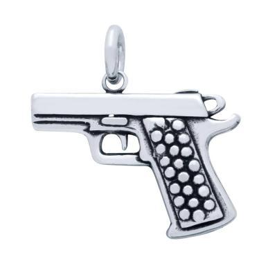 Pandantiv argint 925 pistol1