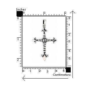 Pandantiv cruce TWISTED BLADE PSX03852