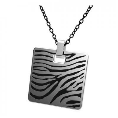 Pandantiv otel inox model zebra