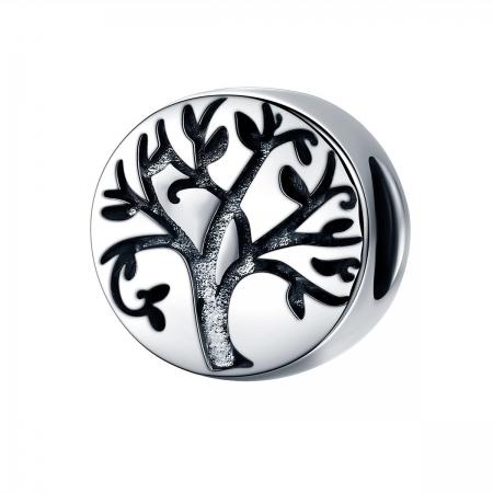 Pandantiv argint 925 cu copacul vietii cu aspect vintage - Be Nature  PST0109