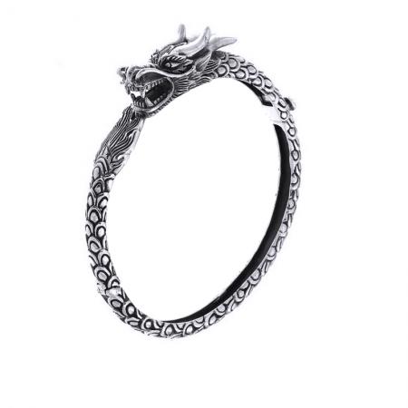 Bratara argint 925 cu dragon, Naga