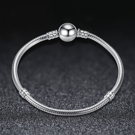 Bratara argint 925 cu inimioara si zirconii albe - Be Elegant BST00183
