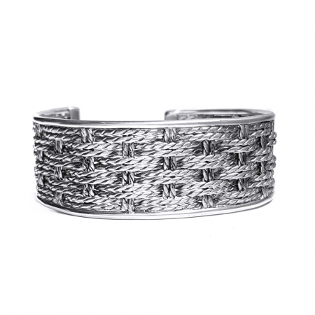 Bratara argint 925 cu model, Ravana