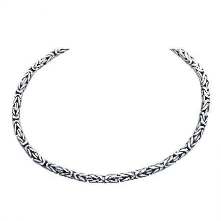 Bratara argint 925 cu model indian, Tara2