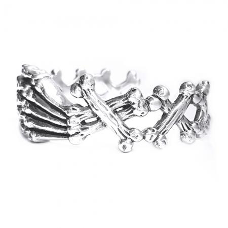 Bratara argint 925 cu oase1