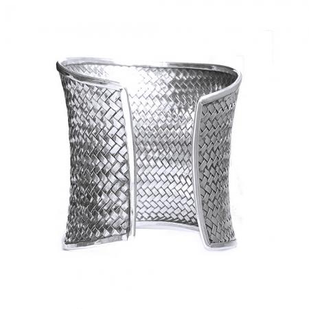 Bratara argint 925 impletita, Batsheeba2