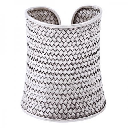 Bratara argint 925 impletita, Batsheeba0