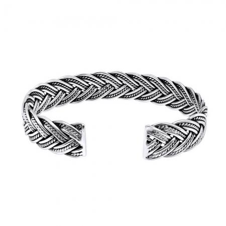 Bratara argint 925 impletita, Nimue1