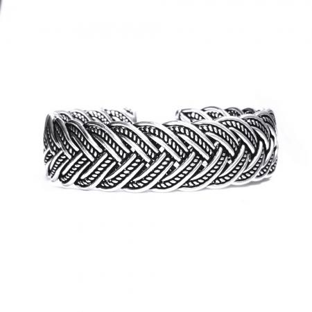 Bratara argint 925 impletita, Nimue2