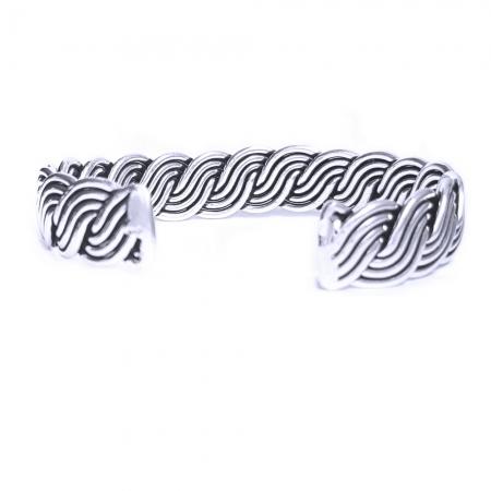 Bratara argint 925 impletita, Brianna1