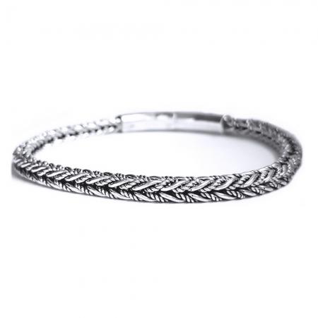 Bratara argint 925 impletita1