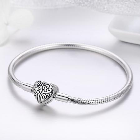 Bratara argint 925 inimioara cu copacul vietii - Be in Love BST00361
