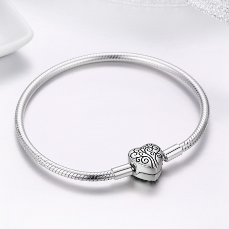 Bratara argint 925 inimioara cu copacul vietii - Be in Love BST00363