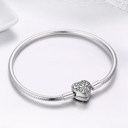 Bratara argint 925 inimioara cu copacul vietii - Be in Love BST00373