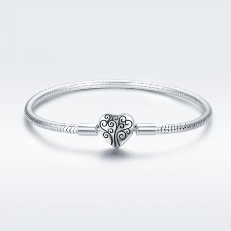 Bratara argint 925 inimioara cu copacul vietii - Be in Love BST00372