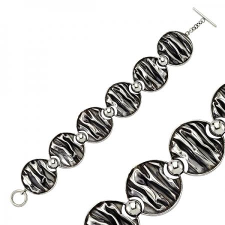 Bratara argint 925 model scoarta de copac - Be Authentic BTU00671