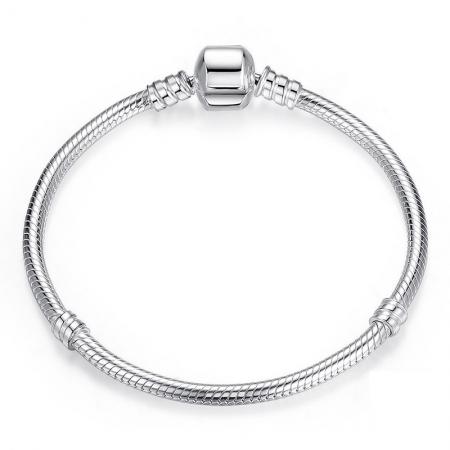 Bratara argint 925 pentru talismane - Be Elegant BST0011