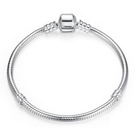 Bratara argint 925 pentru talismane - Be Elegant BST00123