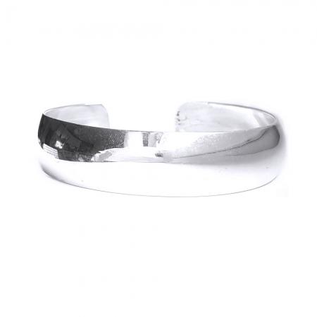 Bratara argint 925 simpla, Leah1