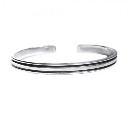Bratara argint 925 simpla, Tara