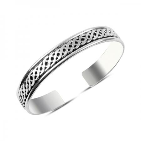 Bratara reglabila din argint 925 cu motive celtice BTU0060