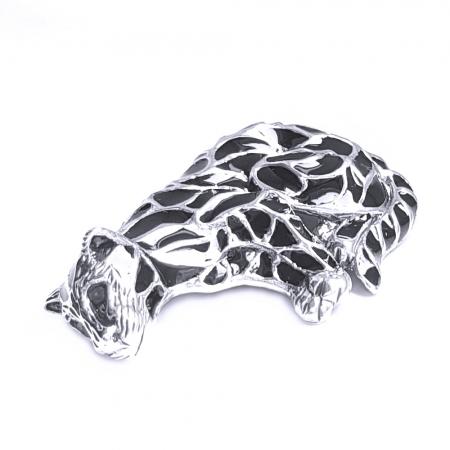 Brosa argint 925 cu pisica pantera puma1