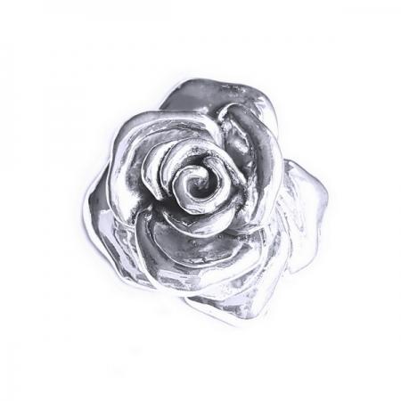 Pandantiv Brosa argint 925 trandafir, Rose2