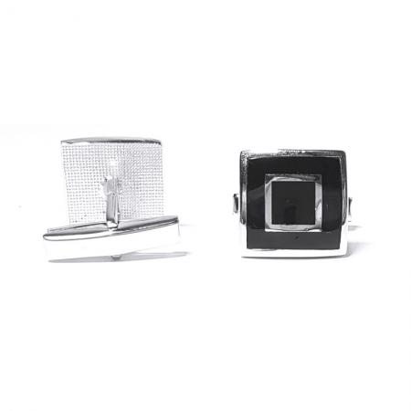 Butoni eleganti din argint 925, Hermes2