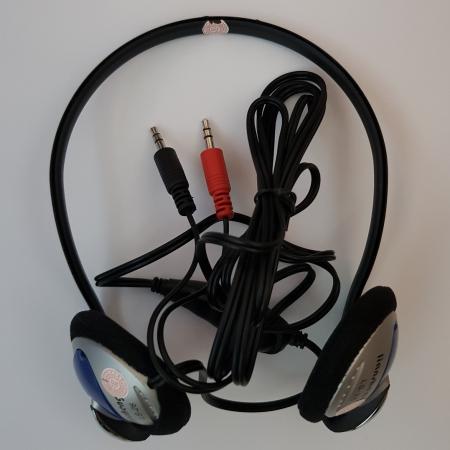 Casti stereo pentru calculator, cu microfon