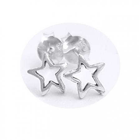 Cercei argint 925 cu stelute CER0700