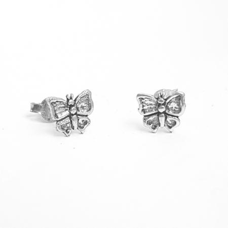 Cercei argint 925 cu fluturasi