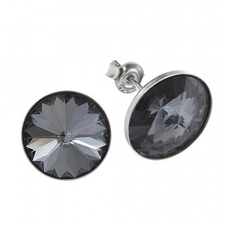 Cercei argint 925 cu swarovski elements 12 Silver Night